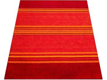 Paco Home Teppich Gabbeh 307, rechteckig, 14 mm Höhe, handgefertigter Kurzflor, Gabbeh-Stil, Wohnzimmer 200x300 cm, braun Schlafzimmerteppiche Teppiche nach Räumen