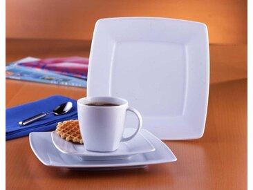 van Well Kaffeeservice Classico (18-tlg.), Porzellan Einheitsgröße weiß Geschirr-Sets Geschirr, Tischaccessoires Haushaltswaren