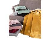 TOM TAILOR Wohndecke B/L: 150 cm x 200 rosa Baumwolldecken Decken