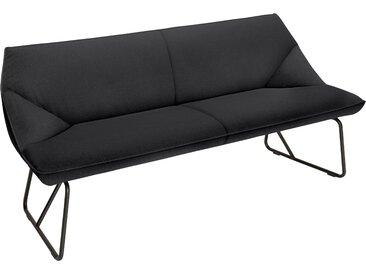 TOM TAILOR Sitzbank CUSHION, mit schmalem Metallgestell, Breite 184 cm B/H/T: x 83 65 cm, Struktur fein TBO grau Tom Tailor Stühle und Sitzbänke Premium-Möbel