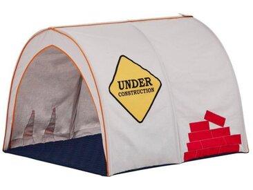 Hoppekids Spieltunnel Construction weiß, / 200 cm weiß Spielzelt Outdoor-Spielzeug