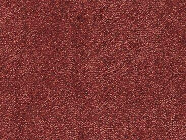 Vorwerk Teppichboden SUPERIOR 1064, rechteckig, 11 mm Höhe, Soft-Glanz-Saxony, 400/500 cm Breite B: 400 cm, 1 St. rot Bodenbeläge Bauen Renovieren