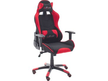 MCA furniture Gaming Chair MC Racing Gaming-Stuhl Stoff, 1 Stück rot Gamingstühle Bürostühle Stühle Sitzbänke