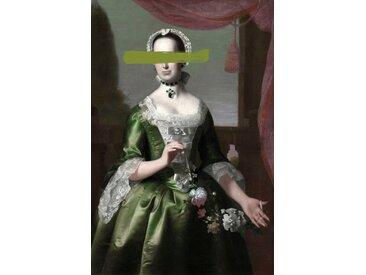 queence Acrylglasbild Frau B/H/T: 100 cm x 150 2,4 grün Acrylglasbilder Bilder Bilderrahmen Wohnaccessoires