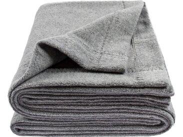 Wohndecke Soft-Greeny, zoeppritz 140x190 cm, Baumwolle-Polyester grau Baumwolldecken Decken Wohndecken
