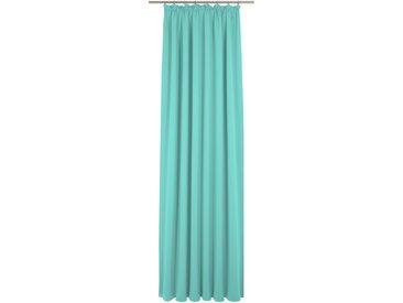 Vorhang, Peschiera, Wirth, Kräuselband 1 Stück 5, H/B: 255/132 cm, blickdicht, grün Blickdichte Vorhänge Gardinen Gardine