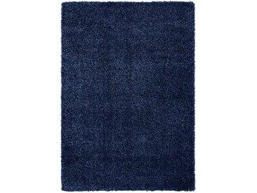 OCI DIE TEPPICHMARKE Hochflor-Teppich Lobby Shaggy, rechteckig, 52 mm Höhe, Wohnzimmer B/L: 240 cm x 290 cm, 1 St. blau Esszimmerteppiche Teppiche nach Räumen