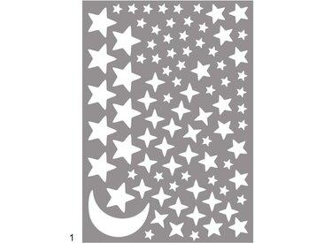 Wall-Art Wandtattoo Leuchtsterne Sternenhimmel 40x0,1x60 cm bunt Wandtattoos und Wandsticker Wohnaccessoires