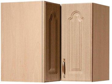 wiho Küchen Eckhängeschrank Linz 60 x 56,5 35 (B H T) cm, 2-türig beige Hängeschränke Küchenschränke Küchenmöbel Schränke