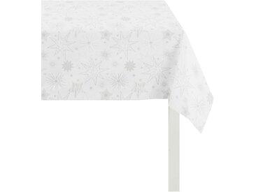 APELT Tischdecke 5201 CHRISTMAS ELEGANCE, (1 St.) B/L: 150 cm x 250 weiß Tischdecken Tischwäsche