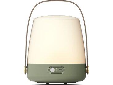 kooduu LED Tischleuchte Lite-up, LED-Board, Warmweiß, dimmbar, Holzgriff, spritzwassergeschützt Ø 20 cm Höhe: 26 grün LED-Lampen LED-Leuchten SOFORT LIEFERBARE Lampen Leuchten