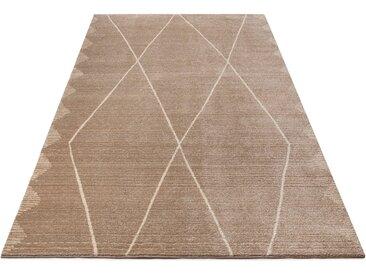 Home affaire Teppich Linda, rechteckig, 14 mm Höhe, Berber-Optik, Wohnzimmer 8, 280x380 cm, beige Schlafzimmerteppiche Teppiche nach Räumen
