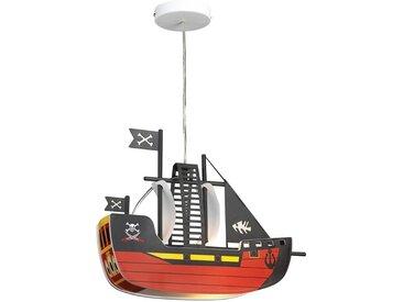 Rabalux Pendelleuchte Piratenschiff, E27, Hängeleuchte, Hängelampe 1 flg. bunt Deckenleuchten SOFORT LIEFERBARE Lampen Leuchten