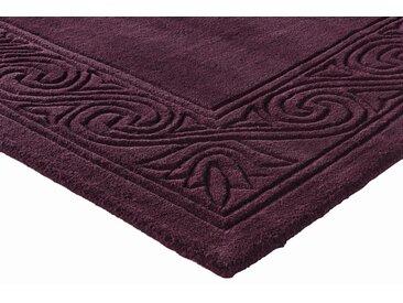 Hochflorteppich uni Farben 7, ca. 190/290 cm lila Teppichläufer Läufer Bettumrandungen Teppiche