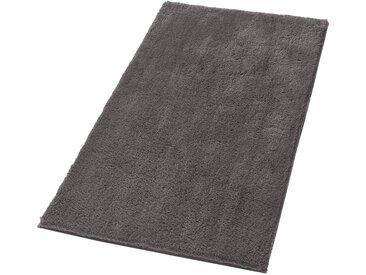 Dyckhoff Badematte, Höhe 20 mm 1, 60x100 cm Badeteppich grau Einfarbige Badematten Teppiche, bunt
