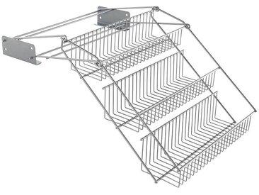 Metaltex Gewürzregal Up & Down 0, 33x21x28 cm silberfarben Gewürzregale Küchen-Regale Küchenmöbel Regale