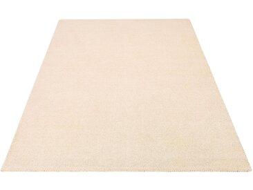 Wollteppich, Gabbeh uni, Theko Exklusiv, rechteckig, Höhe 15 mm, handgewebt