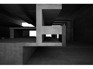 Places of Style Acrylglasbild Steinformationen 150x100 cm, schwarz Acrylglasbilder Bilder Bilderrahmen Wohnaccessoires