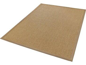 Dekowe Sisalteppich Mara S2 mit Bordüre, rechteckig, 5 mm Höhe, Flachgewebe, Obermaterial: 100% Sisal, Wohnzimmer B/L: 240 cm x 340 cm, 1 St. beige Teppiche