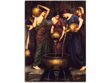 Artland Wandbild Die Danaiden. 1911 90x120 cm, Leinwandbild braun Leinwandbilder Bilder Bilderrahmen Wohnaccessoires