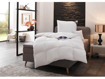 Daunenbettdecke + Federkissen, First Class, SPESSARTTRAUM, (Spar-Set) weiß, 2x 155x220 cm 80x80 cm, Class weiß Allergiker Bettdecke Bettdecken Bettdecken, Kopfkissen Unterbetten Bettwaren-Sets
