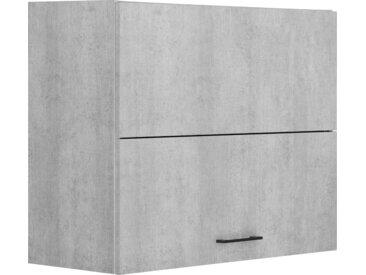 OPTIFIT Faltlifthängeschrank Tokio, 90 cm breit, mit Metallgriff x 70,4 34,9 (B H T) cm, 1-türig, Komplettausführung grau Hängeschränke Küchenschränke Küchenmöbel Schränke