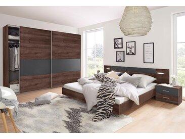 Wimex Schlafzimmer-Set Angie (Set, 4-tlg) Set mit Schwebetürenschrank Breite 225 cm grau Komplett Schlafzimmer Betten Schlafzimmermöbel-Sets