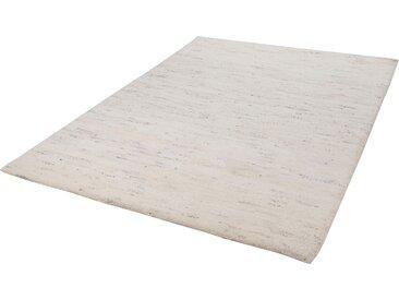 THEKO Wollteppich Taza Royal, rechteckig, 28 mm Höhe, echter Berber, reine Schurwolle, handgeknüpft, Wohnzimmer B/L: 200 cm x 250 cm, 1 St. beige Esszimmerteppiche Teppiche nach Räumen