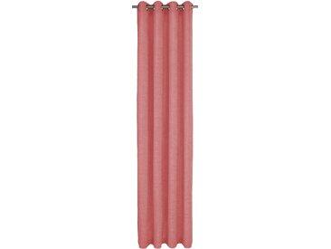 Wirth Vorhang Trondheim 234 g/m² 255 cm, Ösen, 270 cm rosa Wohnzimmergardinen Gardinen nach Räumen Vorhänge