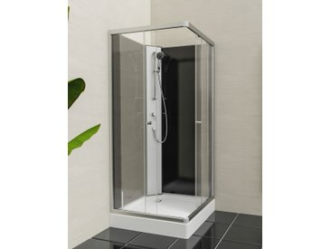 Eisl Komplettdusche Graz 2, inklusive Armatur B/H: 90 cm x 218 weiß Duschkabinen Duschen Bad Sanitär
