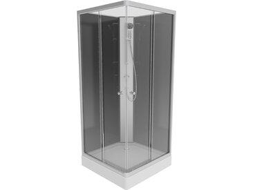 Eisl Komplettdusche Graz 2, inklusive Armatur Einheitsgröße weiß Duschkabinen Duschen Bad Sanitär