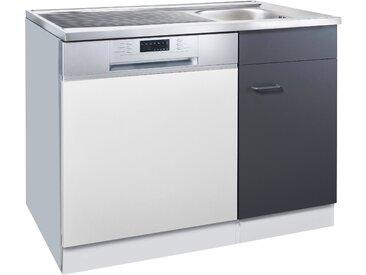 HELD MÖBEL Spülenschrank Elster, für Unterbau-Geschirrspüler, ohne Möbelfront B/H/T: ca. 100/60/85 cm 100 x 82 60 (B H T) cm, 1-türig weiß Spülenschränke Küchenschränke Küchenmöbel Schränke