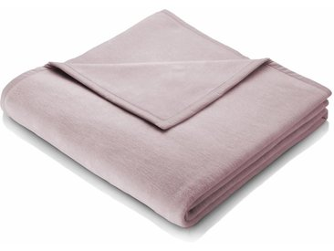 Wohndecke Cotton Home, BIEDERLACK 150x200 cm, Baumwolle-Kunstfaser rosa Baumwolldecken Decken Wohndecken