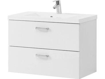 HELD MÖBEL Waschtisch Montreal, Breite 80 cm x 54 weiß Waschtische Badmöbel
