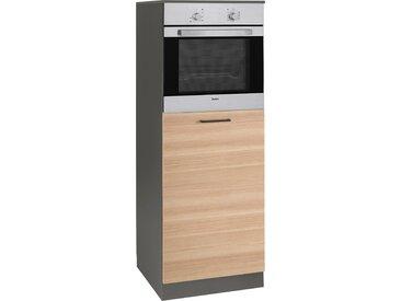 wiho Küchen Backofenumbauschrank Esbo, 60 cm breit B/H/T: x 165 57 cm, 1 beige Umbauschränke Küchenschränke Küchenmöbel