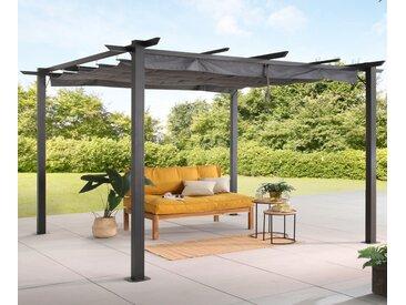 KONIFERA Pergola Tilos B/H/T: 300 cm x 216 400 grau Pavillons Garten Balkon