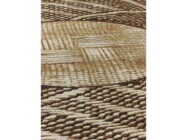 Teppich für In-und Outdoor 3, ca. 120 cm, rund schwarz Runde Teppiche Weitere