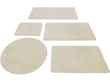 Wecon home Basics Badematte Joris, Höhe 20 mm, rutschhemmend beschichtet rechteckig (60 cm x 100 cm), 1 St. beige Einfarbige Badematten