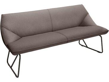 TOM TAILOR Sitzbank CUSHION, mit schmalem Metallgestell, Breite 184 cm B/H/T: x 83 65 cm, Struktur fein TBO braun Tom Tailor Stühle und Sitzbänke Premium-Möbel