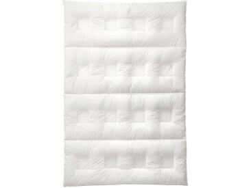 SANDERS OF GERMANY Gänsedaunenbettdecke ClimaBalance, warm, (1 St.), mit patentierten Klimazonen - 3x schnellerer Abtransport von Feuchtigkeit weiß, 200x135 cm weiß Allergiker Bettdecke Bettdecken Bettdecken, Kopfkissen Unterbetten