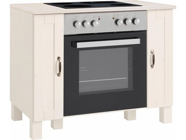 Home affaire Herdumbauschrank Alby 100 x 85 60 (B H T) cm weiß Umbauschränke Küchenschränke Küchenmöbel Schränke