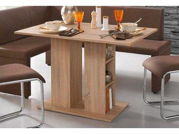 Homexperts Säulen-Esstisch 0, Einheitsgröße beige Säulentische Esstische Tische Tisch
