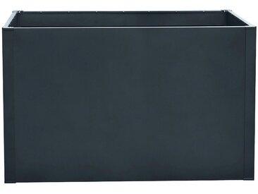 KONIFERA Hochbeet Premium, Stahl, BxTxH: 100x60x78 cm Einheitsgröße grau Hochbeete Gewächshäuser Garten Balkon