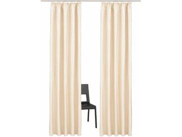 Vorhang, Glow, Guido Maria Kretschmer Home&Living, Kräuselband 2 Stück 3, H/B: 225/140 cm, blickdicht, goldfarben Blickdichte Vorhänge Gardinen Gardine