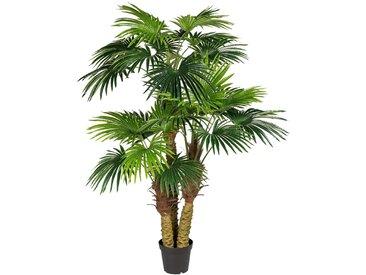 Creativ green Kunstpflanze Fächerpalme (1 Stück)