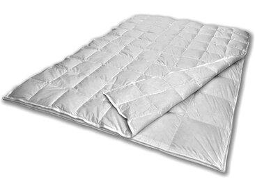SANDERS OF GERMANY Daunenbettdecke Superior, 4-Jahreszeiten, (1 St.), Hervorragendes Schlafklima B/L: 200 cm x 135 cm, 4-Jahreszeiten weiß Allergiker Bettdecke Bettdecken Bettdecken, Kopfkissen Unterbetten