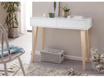Home affaire Konsolentisch Einheitsgröße weiß Beistelltische Tische
