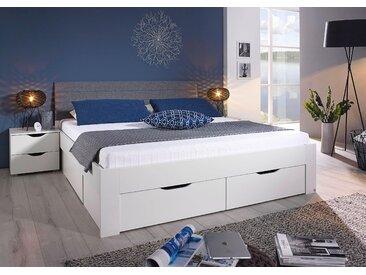 rauch BLUE Stauraumbett Dresden 140x200 cm Höhe Bettseite: 41 cm, ohne Matratze weiß Doppelbetten Betten