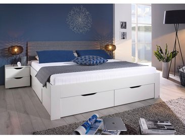 rauch BLUE Stauraumbett Dresden Liegefläche B/L: 140 cm x 200 cm, Gewicht, ohne Matratze weiß Doppelbetten Betten