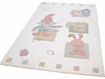 Kinderteppich, Zwerg, THEKO, rechteckig, Höhe 14 mm, handgetuftet